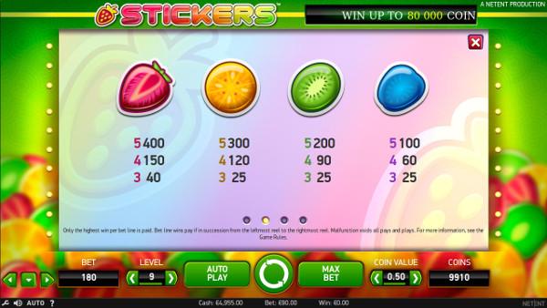 Игровой автомат Stickers - в Казино Чемпион испытай фортуну в лучшие слоты NetEnt