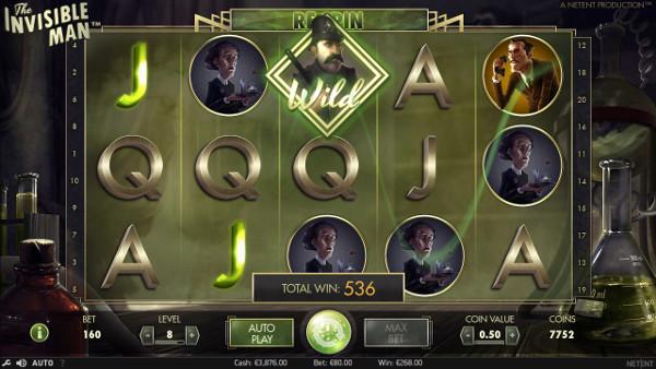 Игровой автомат The Invisible Man - выиграй регулярно в онлайн казино Икс