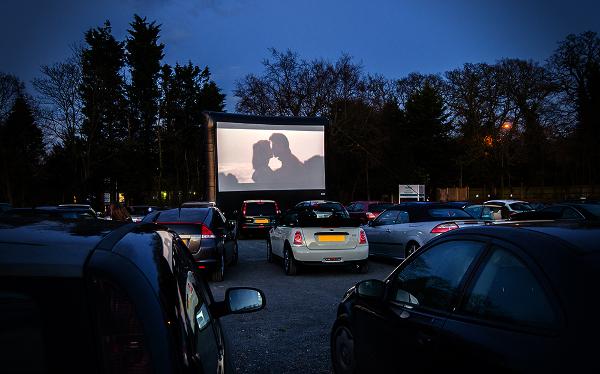 Как открыть кинотеатр под открытым небом на машине
