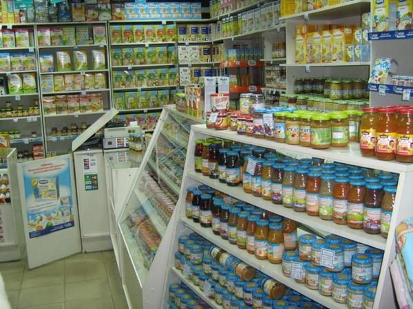 Как открыть магазин детского питания?